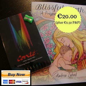 Colouring Book incl. 12 Colouring Pencils in Tin€17.50 (plus €2.50 P&P) (4)