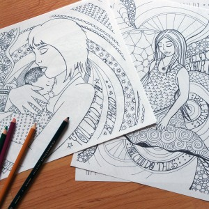 Sample Colouring Book